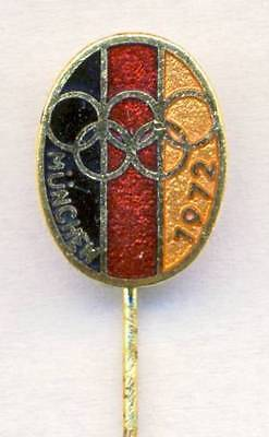 1972 MUNICH Olympics GERMANY NOC pin badge GERMAN National OLYMPIC Committee