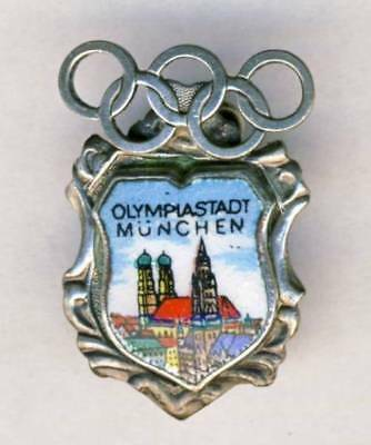 1972 MUNICH Olympics PIN BADGE Olympic Games MUNCHEN Germany Olympia 2