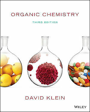 VERSION Organic Chemistry David Klein 3RD EDITION (Textbook+manual solution)