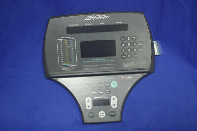 Life Fitness Front Cover Console LF Bike 95 CI/RI (Overlay/Bezel) ungebr. (L11)