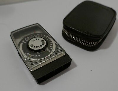 Tiny Hanimex Pr-45 Selenium Cell Exposure / Light Meter .