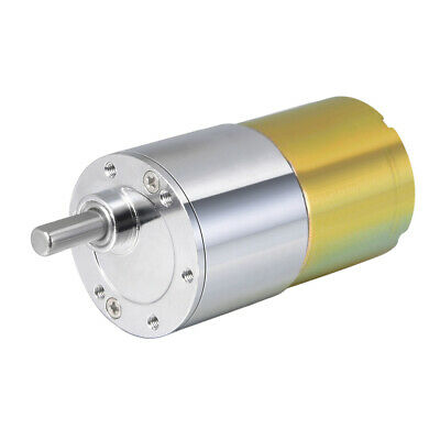 12V DC 5 RPM Gear Motor High Torque Reduction Gearbox Eccentric Output Shaft