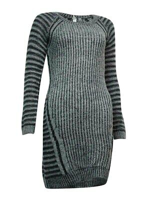 NY Collection Women's Ribbed Sheath Sweater Dress