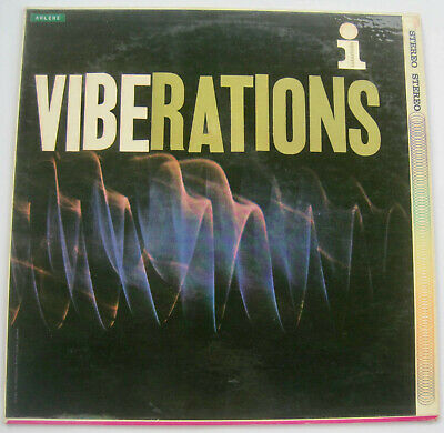 Viberations Interlude Records  Terry Gibbs Stereo LP ST 1006 Red Vinyl 1959 Jazz