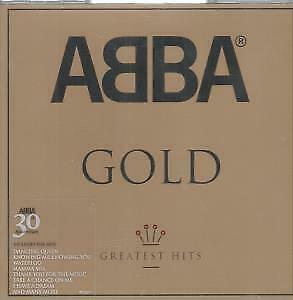 ABBA Gold CD 19 Track (9819297) 30th Anniversary Sticker On Case EUROPE Polar
