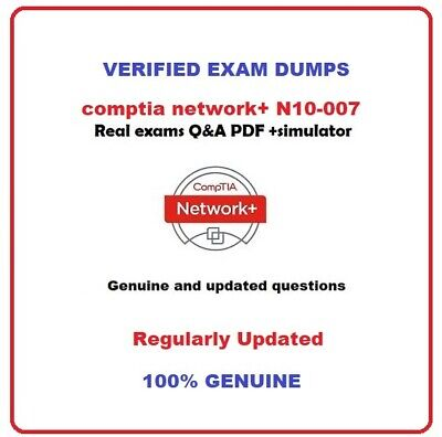 CompTIA  network+ N10-007 Exam Questions & solutions and sim