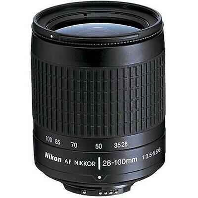 Refurbished Nikon 28-100mm F3.5-5.6 AF-G Lens - Black