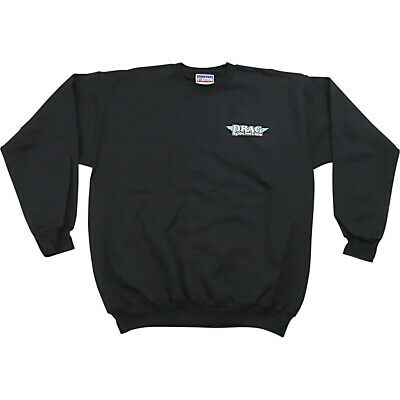 Drag Specialties Mens Pullover Sweatshirt Black/White/Blue