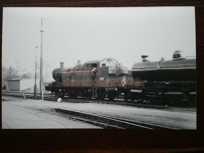 Photo  Gwr Ex Taff Vale Railway  Class A  Loco Gwr No 348 Tv No 80 At Swindon 11