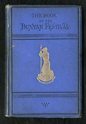1874 Book of the Bunyan Festival, WH Wylie, Tipped in Photo Pilgrim's Progress
