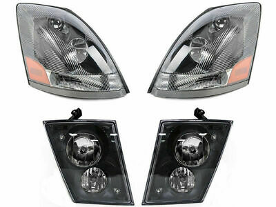 Volvo 2008 2009 2010 2011 VN VNL VNM 630 670 Series HEADLIGHTS FOG LIGHTS SET
