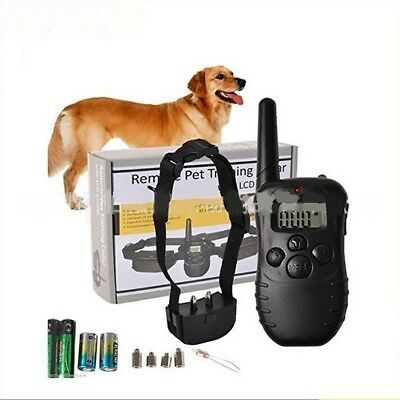 330 Yard 100 LV Dog Training Collar Shock Collar Electric with Remote control