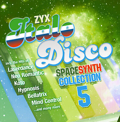 CD Zyx Italo Disco Spacesynth Collection 5 von Various Artists 2CDs