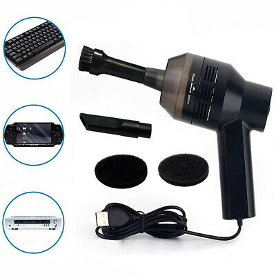 Mini Portable Handheld Vacuum Cleaner for Home Computer Keyboard Dust Cleaning