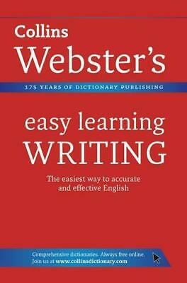Writing (Collins Webster's Easy Learning), Collins Dictionaries, Good Condition