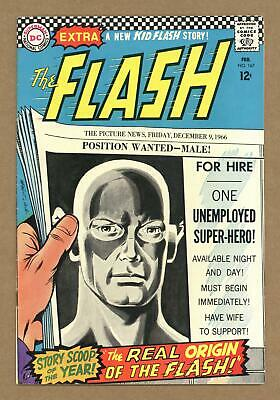 Flash (1st Series DC) #167 1967 VG- 3.5 Low Grade