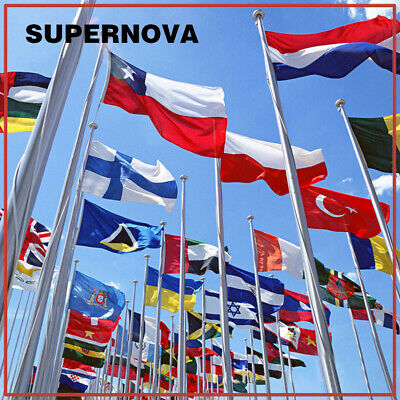 World Country Flags New Design 3'x5' FT National Flag Polyester America Flags