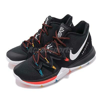 Nike Kyrie 5 EP V Irving FRIENDS Black White Bright Crimson Men Shoes AO2919-006