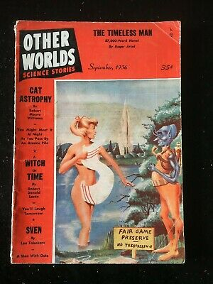 Other Worlds US SF Pulp - Sept 1956 - Robert Moore Williams, R. D. Locke etc