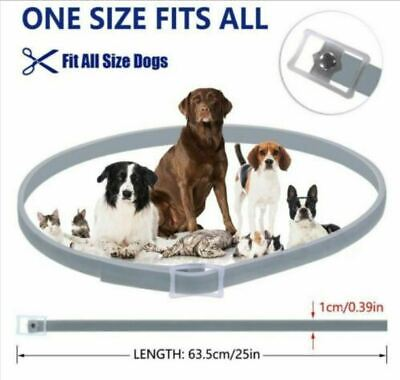 63cm DEWEL DOGS  Flea and Tick Collar for Large Dogs 8 Month Protection