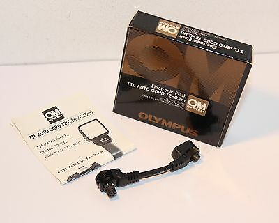 OLYMPUS ELECTRONIC FLASH TTL Auto Cord T2 - 0.1m , BOXED