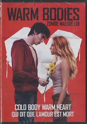 Warm Bodies (DVD, 2013, Canadian, Widescreen) BRAND NEW
