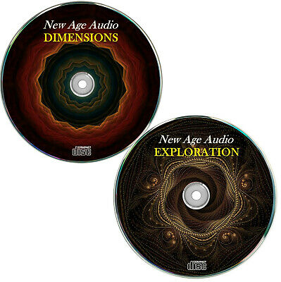 New Age Audio 1+2, Chillout Music, Wellness, Ambient Musik, Yoga,  ✔2 Audio CD