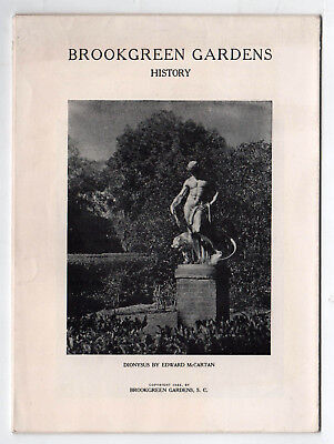 1949 BROOKGREEN GARDENS Booklet MURRELLS INLET South Carolina HUNTINGTON SC