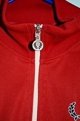 FRED PERRY  80s Vintage track jacket West Ham colours
