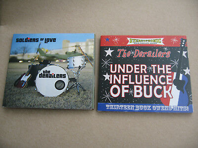 CD The Derailers Soldiers of love plus The Derailers under the influence of buck