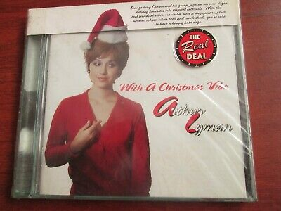 Arthur Lyman - With a Christmas Vibe (CD 1996)  NEW AND SEALED