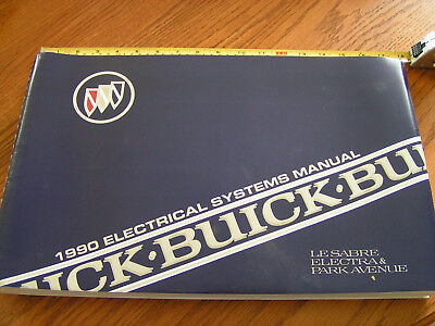 1990 Buick LeSabre Electra Park Ave NEW Electrical Systems LARGE Big Book Manual