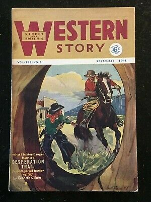 Western Story - UK reprint Pulp - September 1941 - Kenneth Gilbert etc