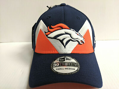 premium selection a68e9 67be1 Denver Broncos Cap New Era 39Thirty Stretch 2019 On Stage NFL Draft Hat