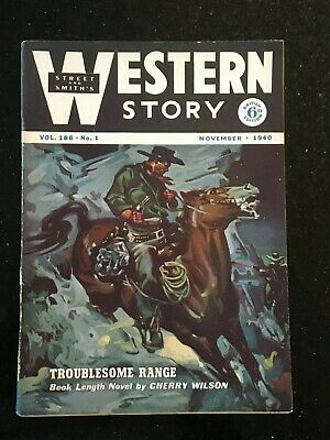 Western Story - UK reprint Pulp - Nov. 1940 - Superb condition - RARE