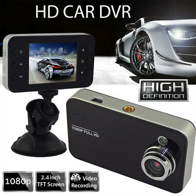 "2.4"" Camera Full HD In CAR DVR 1080P Compact Recording Dash Cam Camcorder Motion"