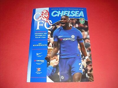 2017/18 Carabao Cup Chelsea V Bournemouth