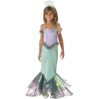 Mermaid Costume Kids Halloween Fancy Dress