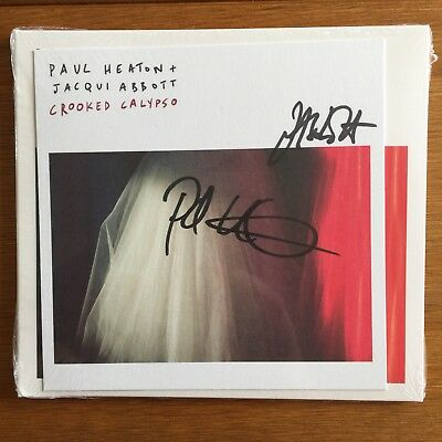 Paul Heaton & Jacqui Abbott - CROOKED CALYPSO: SIGNED  CD Sealed