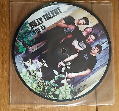"""Billy Talent - The Ex  7""""  Picture Disc"""