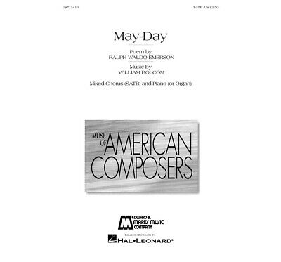 Edward B. Marks Music Company May-Day SATB composed by William Bolcom