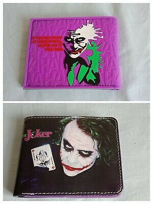 DC Comics The Joker Bi-Fold Wallets
