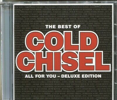 THE BEST OF COLD CHISEL - ALL FOR YOU - DELUXE EDITION - 2 CD's