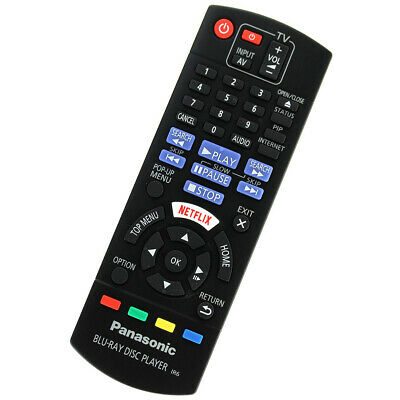 Original Panasonic Replacement Bluray Player Remote Control N2Qayb001029 83 8...