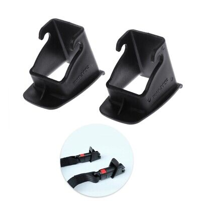1 Pair Car Baby Seat ISOFIX Latch Belt Connector Guide Groove  New