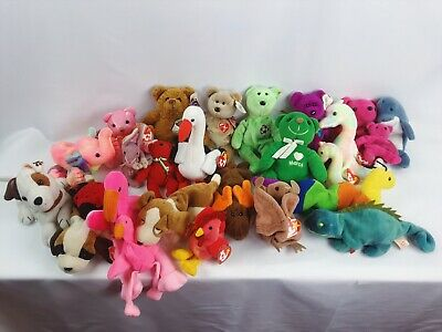 cde72fec728 Ty Beanie Babies and Beanie Plush Lot of 26