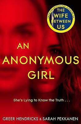 Anonymous Girl by Greer Hendricks Hardcover Book Free Shipping!