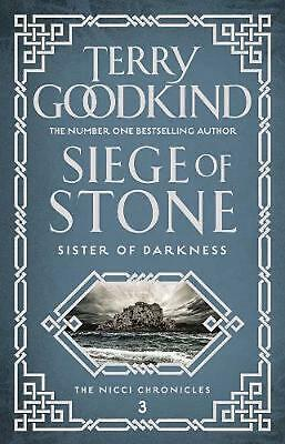Siege of Stone by Terry Goodkind (English) Paperback Book Free Shipping!