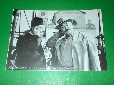 Cartolina Cinema - Brescello - Scena tratta dal film Don Camillo 1960 ca