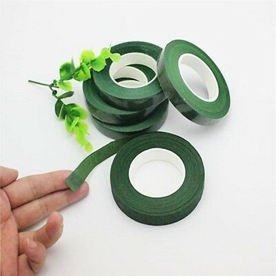 1Bundle X 6Rolls Green Stem WRAP FLORAL TAPE 24mm Wide